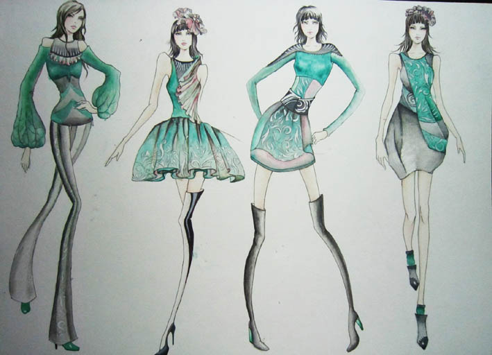 平面构成,立体构成,服装学概论